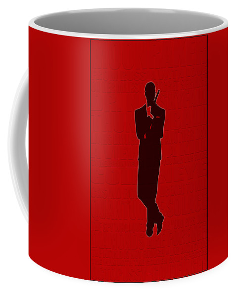 James Bond Coffee Mug featuring the photograph Graphic Bond 3 by Andrew Fare