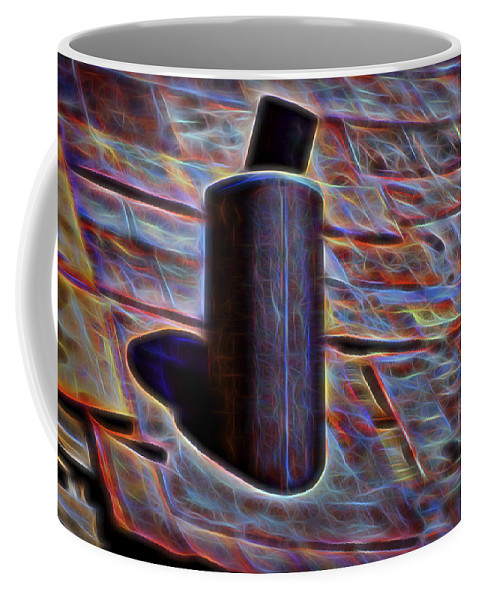 Hot Tin Coffee Mug featuring the photograph Graphic Colors by Kelley King
