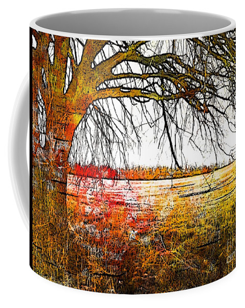 Nature Coffee Mug featuring the photograph Graphic Tree by Debbie Portwood
