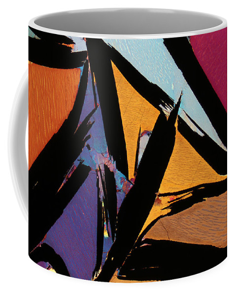 Rock Coffee Mug featuring the photograph Graphite From India by Bernardo Cesare