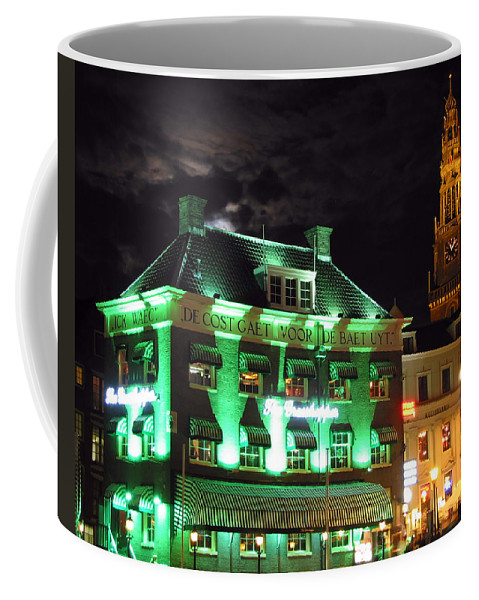3scape Coffee Mug featuring the photograph Grasshopper Bar by Adam Romanowicz