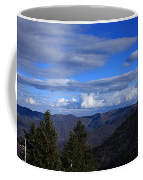 Great Balsam Mountains Coffee Mug featuring the photograph Great Balsam Mountains-north Carolina by Mountains to the Sea Photo