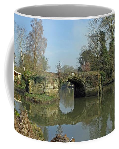 Great Bridge Coffee Mug featuring the photograph Great Bridge Warwick by Tony Murtagh