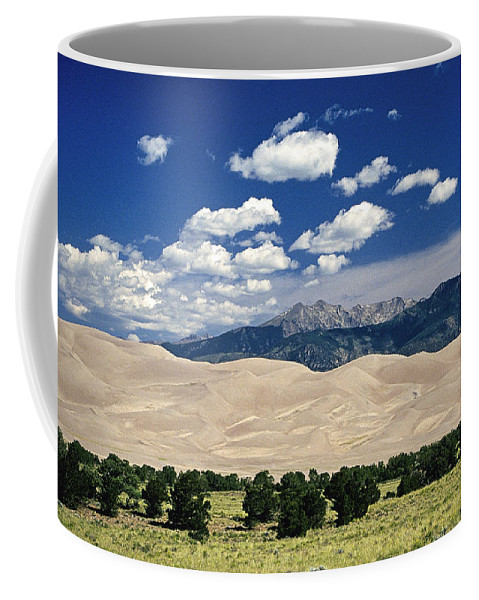Hikers Coffee Mug featuring the photograph Great Sand Dunes I by Buddy Mays