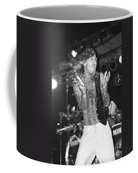 Singer Coffee Mug featuring the photograph Great White by Concert Photos