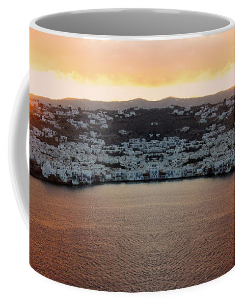 Greece Coffee Mug featuring the photograph Greece Double Vision #154 by Evan Peller