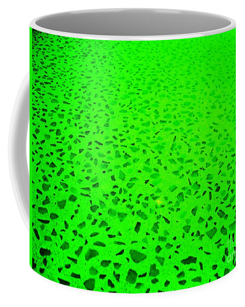 Green Abstract Coffee Mug featuring the photograph Green Representational Abstract by Eric Schiabor