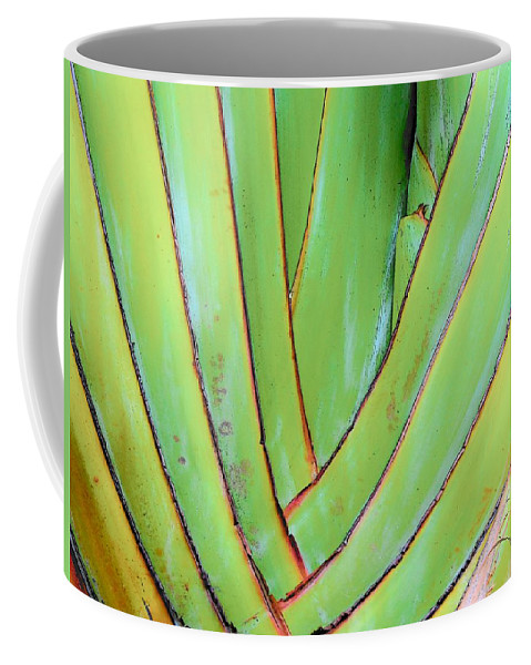 Floral Coffee Mug featuring the photograph Green by Strangefire Art    Scylla Liscombe