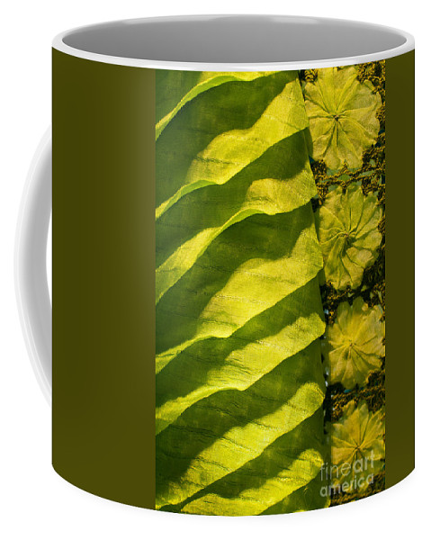 Cambodian Coffee Mug featuring the photograph Green Silk 02 by Rick Piper Photography