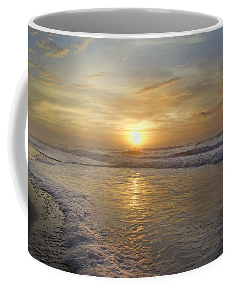 Topsail Coffee Mug featuring the photograph Greetings From Topsail by Betsy Knapp