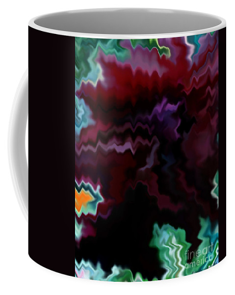 Fine Art Coffee Mug featuring the mixed media Grief by Patricia Griffin Brett