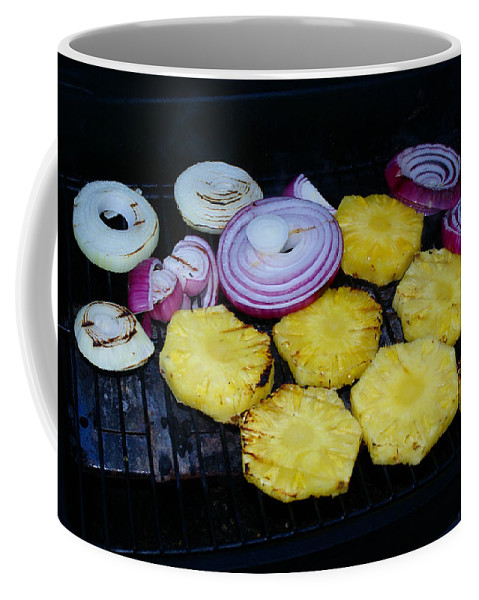 Food Coffee Mug featuring the photograph Grilled Veggies #1 by Ben Upham III