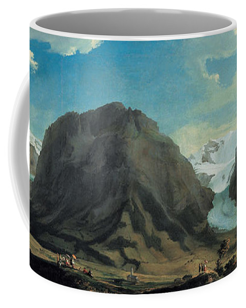 Caspar Wolf Coffee Mug featuring the painting Grindelwald by Caspar Wolf