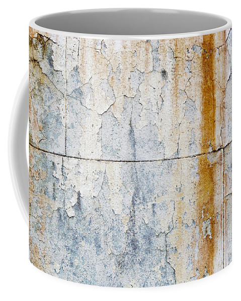 Concrete Wall Coffee Mug featuring the photograph Grunge Concrete Texture by Tim Hester