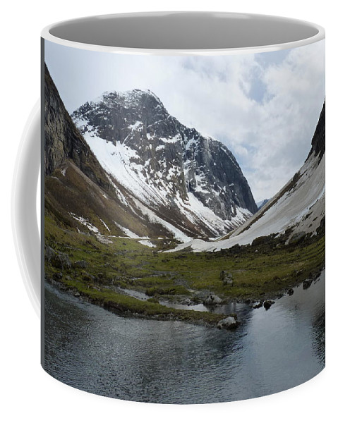 Coffee Mug featuring the photograph Guarding The Clear Spring by Katerina Naumenko
