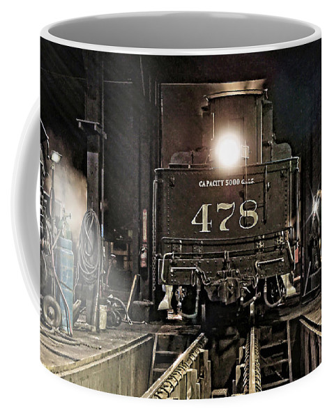 D&rgw Coffee Mug featuring the photograph Guiding Light by Ken Smith