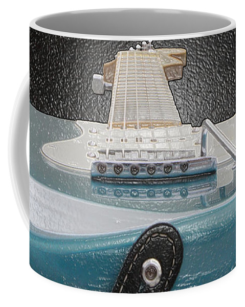 Guitar Coffee Mug featuring the photograph Guitar Art by Shoal Hollingsworth