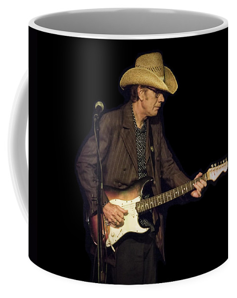 Art Coffee Mug featuring the photograph Guitarist Bo Ramsey by Randall Nyhof