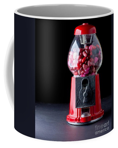 Love Coffee Mug featuring the photograph Gumball Machine by Edward Fielding