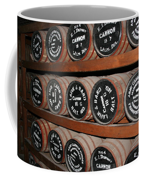 Gunpowder Coffee Mug featuring the photograph Gunpowder Depot by Christiane Schulze Art And Photography