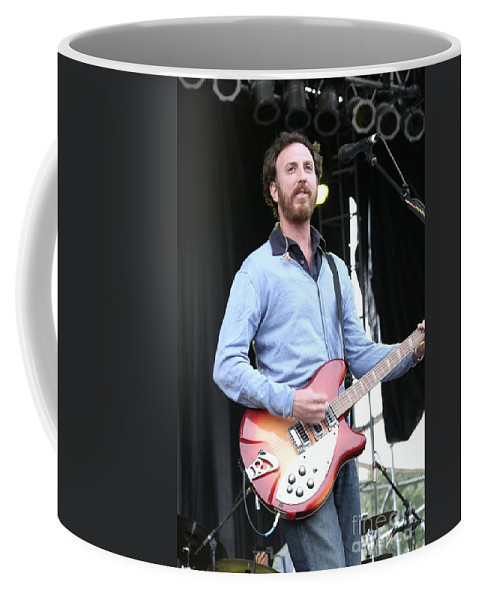 Singers Coffee Mug featuring the photograph Guster by Concert Photos