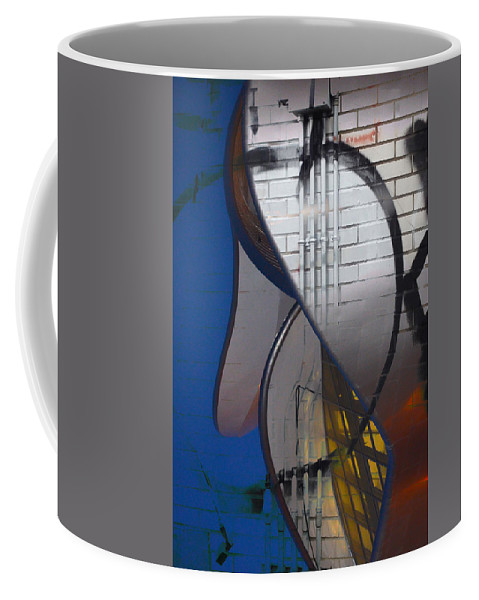 Street Coffee Mug featuring the photograph Gutters Of Guilt by The Artist Project