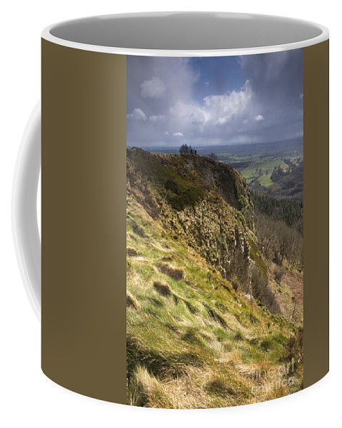 Awe Coffee Mug featuring the photograph Hailstorm In The Distance by Deborah Benbrook
