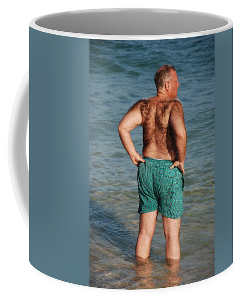 Man Coffee Mug featuring the photograph Hairy Ocean by Rob Hans