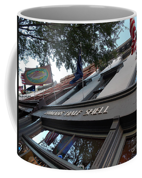 Maritime Coffee Mug featuring the photograph Half Shell by Skip Willits