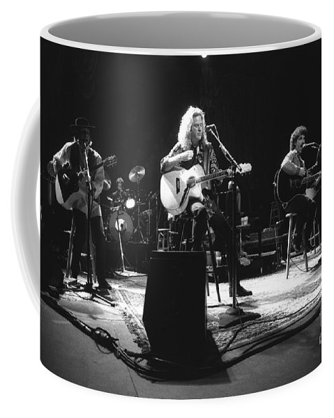 Singer Coffee Mug featuring the photograph Hall And Oates by Concert Photos