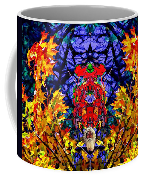 Color Coffee Mug featuring the photograph Hall Of The Color King by Steve Harrington