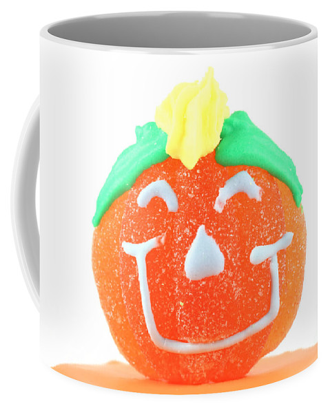 Cup Coffee Mug featuring the photograph Halloween Pimpkin Sweet by Simon Bratt Photography LRPS