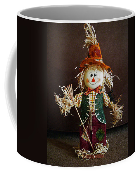 Halloween Coffee Mug featuring the photograph Halloween Scarecrow by Aimee L Maher ALM GALLERY