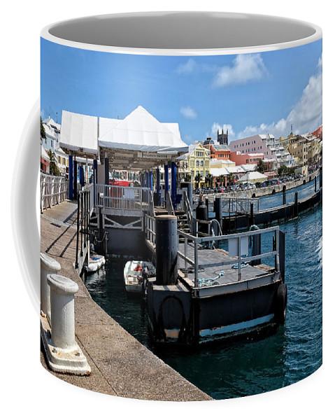 Water Coffee Mug featuring the photograph Hamilton Dock by Lucinda Walter