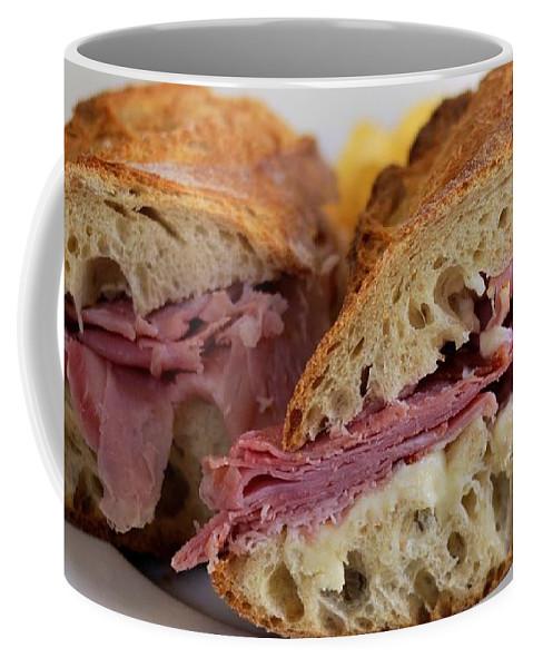 Ham Sandwich Coffee Mug featuring the photograph Hammy Sammy by William Morgan