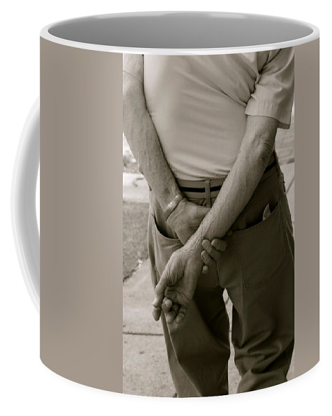 Germantown Coffee Mug featuring the photograph Hands by Alice Gipson