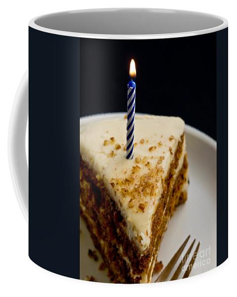 Happy Coffee Mug featuring the photograph Happy Birthday by Edward Fielding