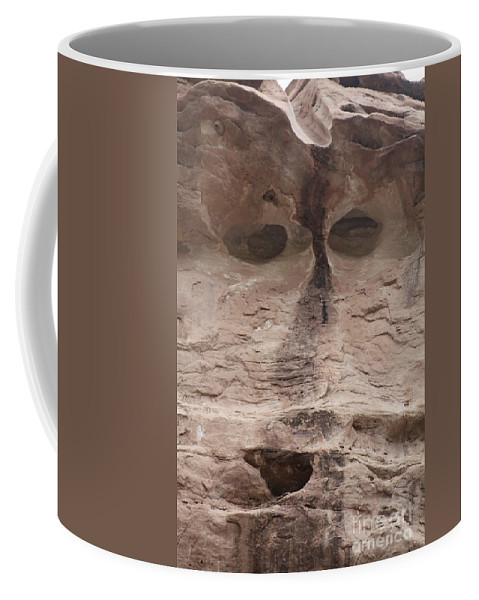 Rock Cliff Coffee Mug featuring the photograph Happy Cliff by Brandi Maher