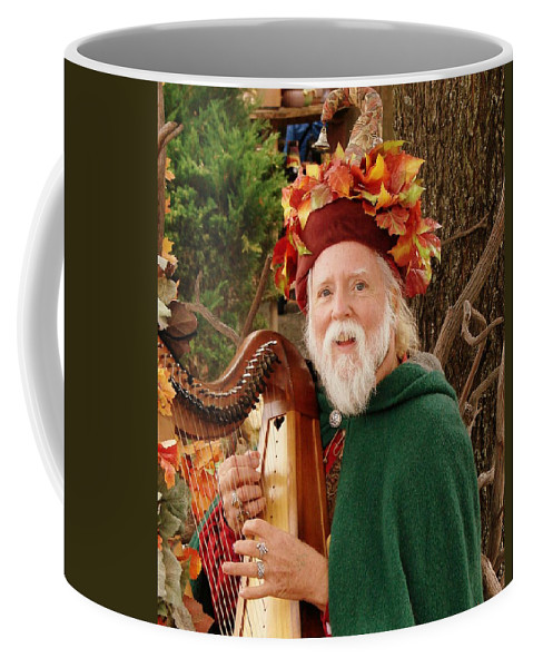 Minstrel Coffee Mug featuring the photograph Happy Minstrel by Rodney Lee Williams