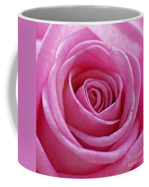 Pink Coffee Mug featuring the photograph Happy Pink by Carol Lynch