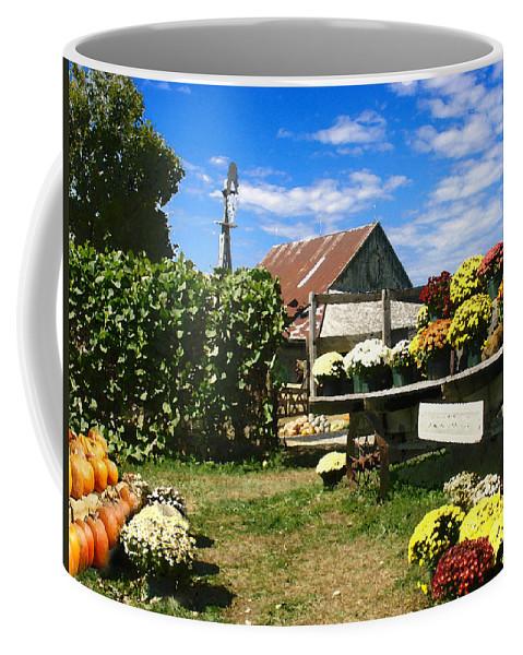 Farm Coffee Mug featuring the photograph Happy Thanksgiving 2013 by Steve Karol