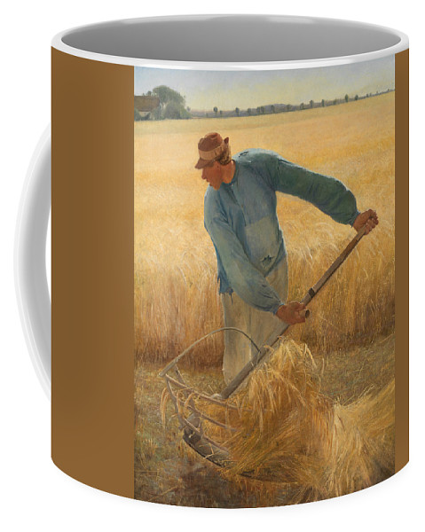 Laurits Andersen Ring Coffee Mug featuring the painting Harvest by Laurits Andersen Ring
