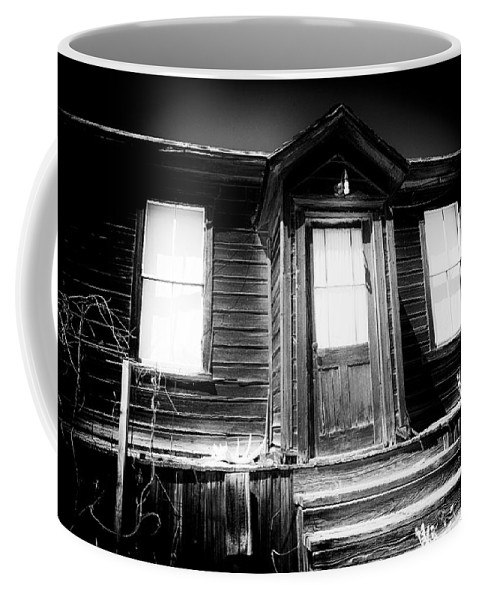 Ghost Town Coffee Mug featuring the photograph Haunted by Cat Connor
