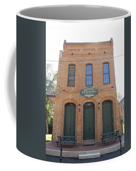 Haunted Saloons Coffee Mug featuring the photograph Haunted Historic Saloon by Donna Wilson