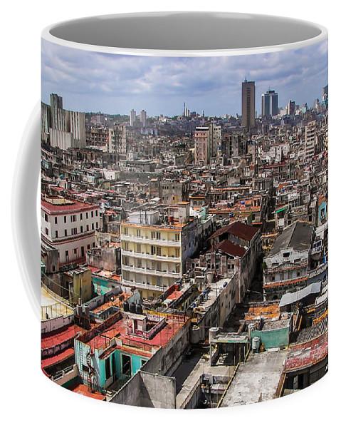 Havana Coffee Mug featuring the photograph Havana by Karen Wiles