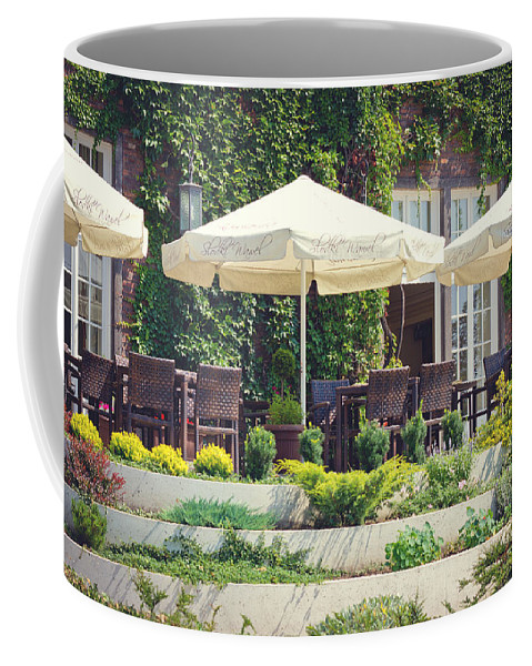 Restaurant Coffee Mug featuring the photograph Have A Drink by Pati Photography
