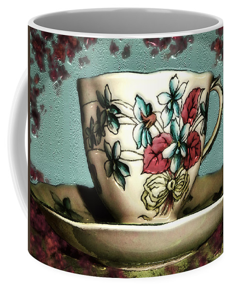 Cup Coffee Mug featuring the painting Have A Nice Cup Of... by RC DeWinter