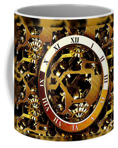 Clock Coffee Mug featuring the photograph Have You Got The Time by Ericamaxine Price