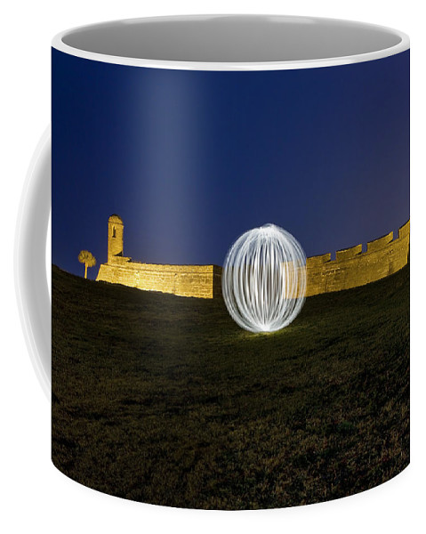 Castillo De San Marcos Coffee Mug featuring the photograph Having A Ball At The Fort by Rich Franco