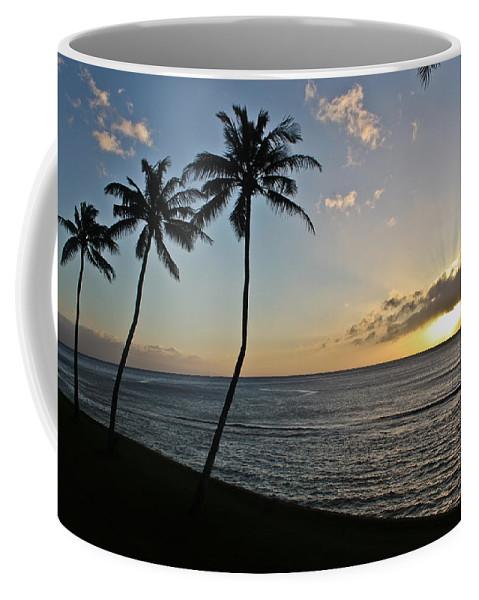 Maui Coffee Mug featuring the photograph Hawaiian Sunset by Joann Copeland-Paul